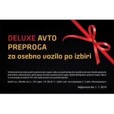 Darilna kartica za preproge DELUXE