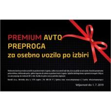 Darilna kartica za preproge PREMIUM