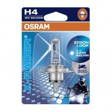 Moto žarnica OSRAM 12V H4 60/55W X-RACER