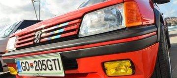 Sodelovali smo pri obnovi vozila Peugeot 205 GTI (1987)