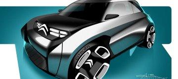 Študija Citroënovega električnega malčka