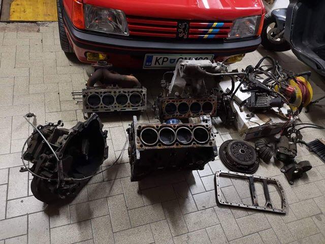 Izgled vozila Peugeot 205GTI pred obnovo