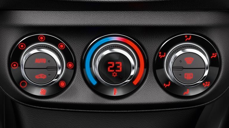 Klima naprava v avtomobilu